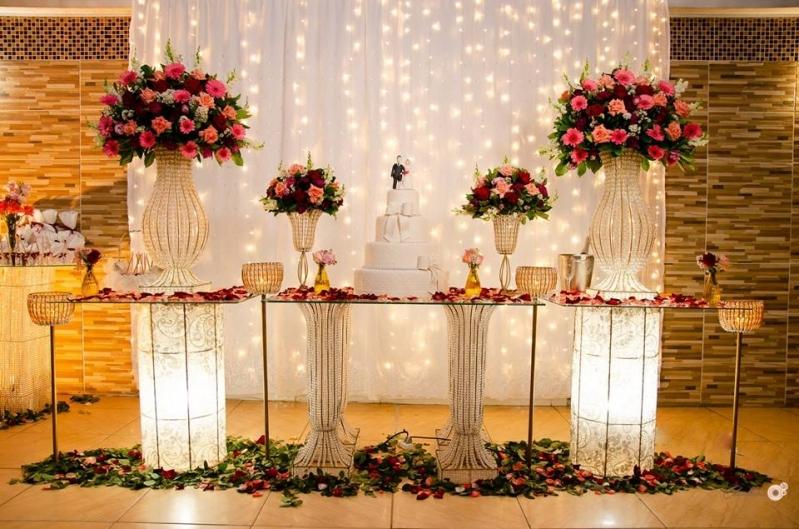Buffet Casamento Completo Jardim Central - Buffet para Casamento com Decoração