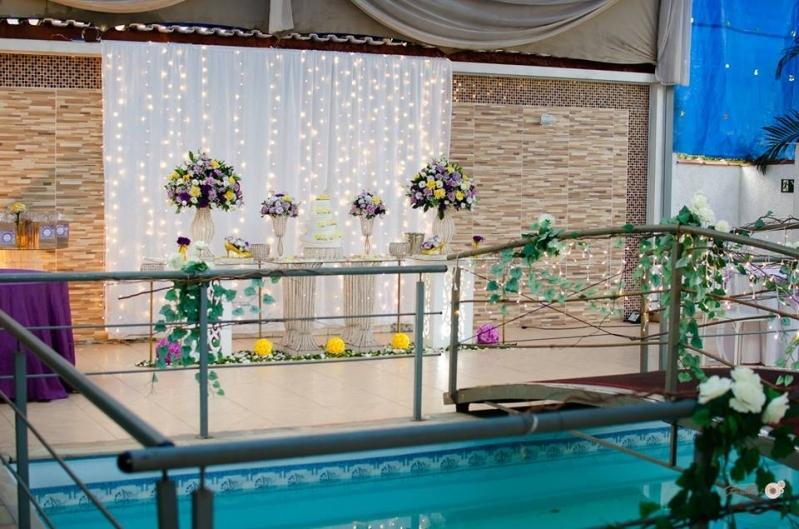 Buffet para Casamento ao Ar Livre Preço Santa Cruz - Buffet Casamento de Dia