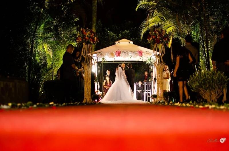 Buffet para Casamento ao Ar Livre São Miguel - Buffet Casamento de Dia