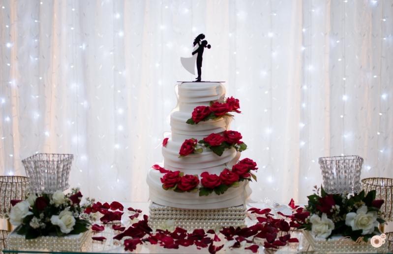 Buffet para Casamento com Decoração Santa Paula - Buffet para Casamento de Manhã