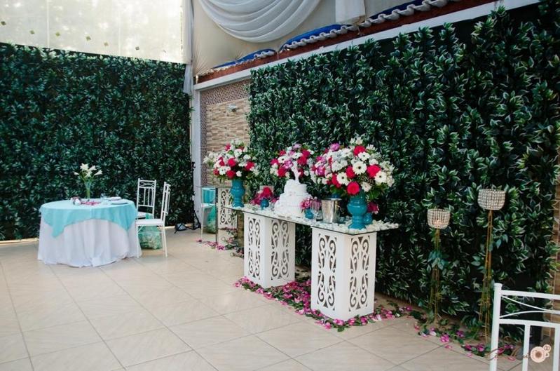 Buffets Casamento de Dia Mauá - Buffet para Casamento com Decoração
