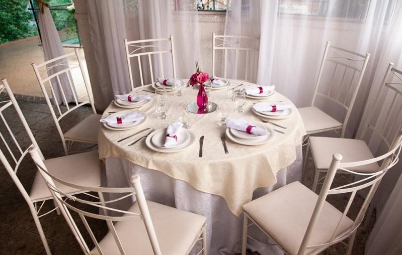 Buffets Casamento Jantar Oswaldo Cruz - Buffet para Casamento ao Ar Livre