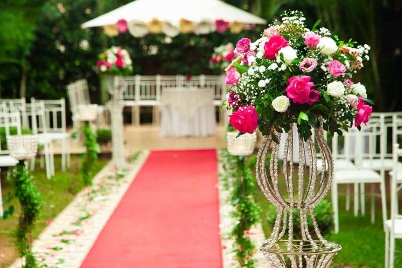 Buffets para Casamento ao Ar Livre São Miguel - Buffet para Casamento com Decoração