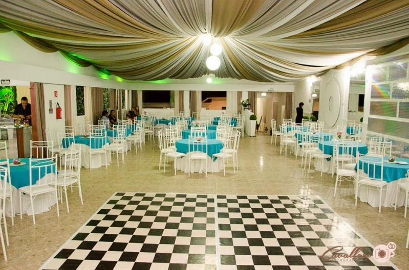 Buffets para Casamentos com Dj Santa Paula - Buffet para Casamento com Decoração