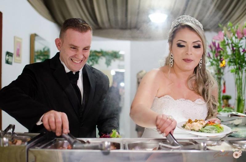 Onde Encontro Buffet para Casamento a Domicílio Ferrazópolis - Buffet Casamento de Dia