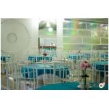aluguel de espaço para evento com buffet Anchieta