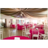 buffet casamento de dia Santos