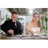 buffet para casamento a domicílio