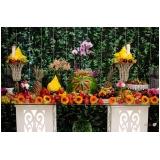 buffet para casamento com coquetel preço Alvarenga