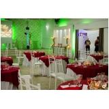 buffet para casamento com coquetel Industrial