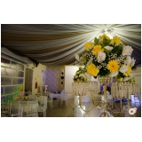 buffet para casamento com decoração preço Industrial