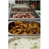 buffet para casamento de churrasco Cerâmica