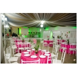 buffet para casamento de noite preço Capivari
