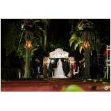 buffet para casamento de noite Santa Cruz