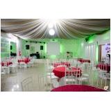 buffet para casamentos com dj preço Alvarenga