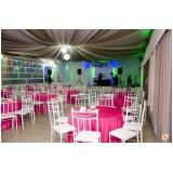 buffet para casamentos com dj Jardim Telma