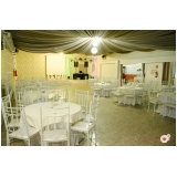 buffets para casamento com decoração Parque Terra Nova II