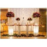 buffets para casamento de noite Vila Dayse