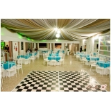 buffets para casamentos com dj Parque das Orquídeas