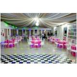 espaço para eventos de confraternização Cerâmica