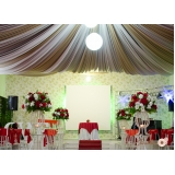 espaço para festa com buffet Vila Dayse