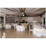 espaço para festa de bodas Santa Cruz