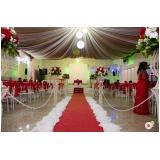 espaço para festa de casamento preço Alves Dias