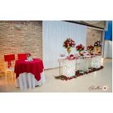 espaço para festas com buffet Alvarenga
