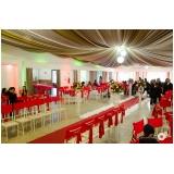 espaço para festas de casamento Jardim Telma