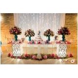 festa de casamento completa Ferrazópolis