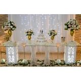 festa de casamento de luxo Jardim Represa