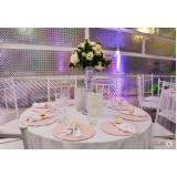 festas de casamento de luxo Santos