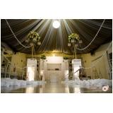 onde encontro buffet para casamento com decoração Santo André