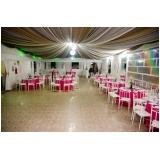 onde encontro buffet para casamento de manhã Vila Dayse