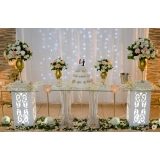 orçamento para festa de casamento a noite Planalto