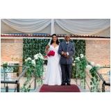 orçamento para festa de casamento a tarde Demarchi