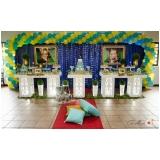 preço de espaço para festa aniversário Taboão