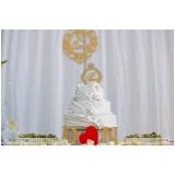 preço de espaço para festa de bodas Santos