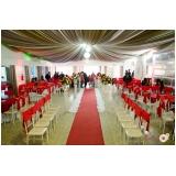 valores de espaço para festa com buffet Jardim das Oliveiras